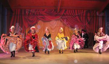 Crinolines en cotillons    French Cancan